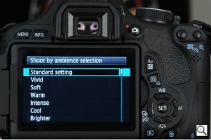 The updated screen functionality of the Canon EOS Rebel T3i (600D in Australia) is much faster and easier to use than its predecessor.