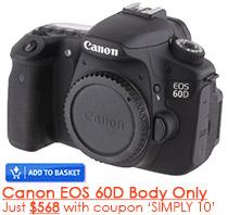 Canon EOS 60D Camera Special