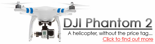DJI Phantom 2 Flying Camera